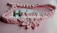 baby crochet headbands-free crochet patterns
