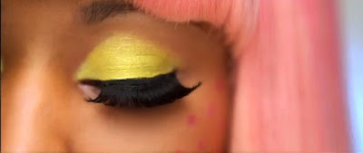 Close Up Eyes Nicki Minaj - Super Bass