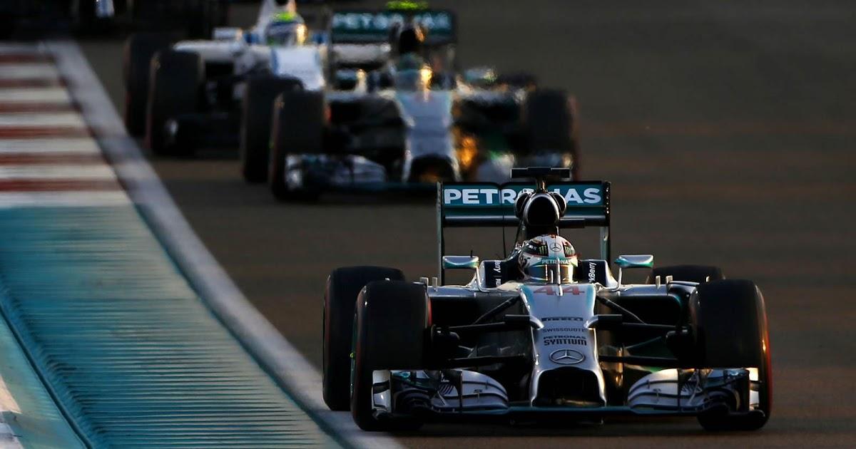 Lewis Hamilton é o Campeão Mundial de F-1 de 2014