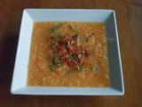 Melon Soup with Crispy Prosciutto