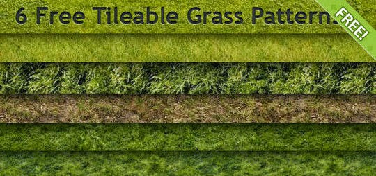 14 Useful Free Grass-Inspired Patterns