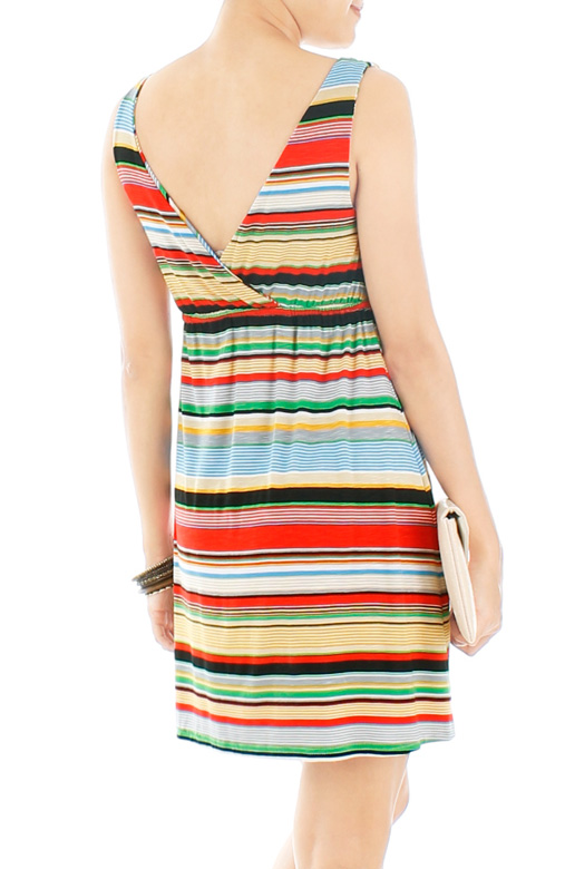 Happy Stripe Getaway Dress