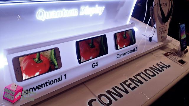 LG G4 Quantum Display