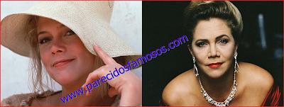 Kathleen Turner antes y después