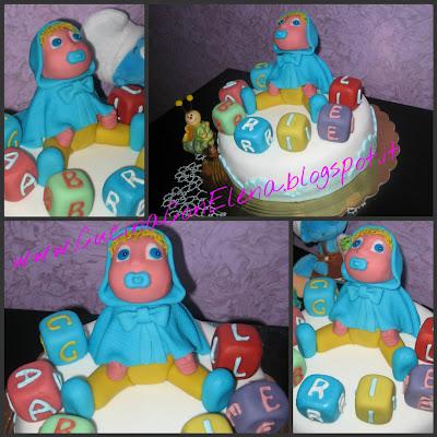 torta per nascita bimbo