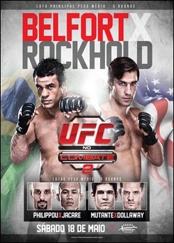 UFC on FX 8 Belfort vs Rockhold   HDTV MP4 + RMVB