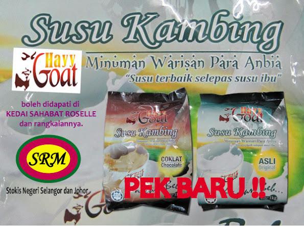 Stokis Susu Kambing Akil Hayy Johor dan Selangor