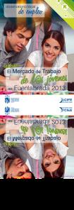 Estudio sobre El Mercado de Trabajo de los Jovenes en Fuenlabrada 2013