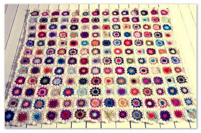 colcha crochet