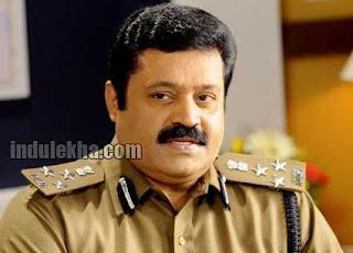 Suresh Gopi as cop
