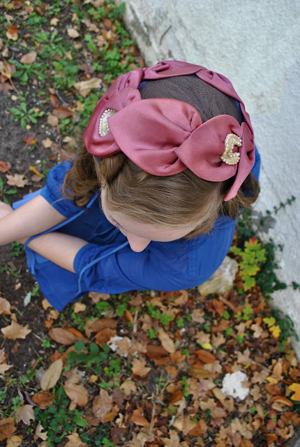 Flashback Summer: New Pink Hat, 1950s vintage hat outfit