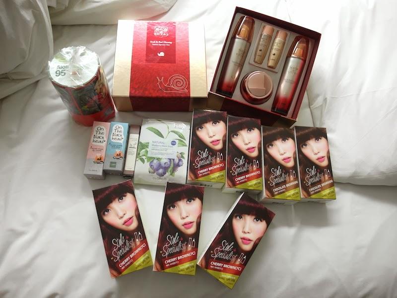 The Saem skincare haul Korea Seoul lunarrive singapore