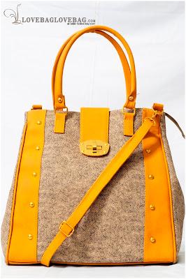 Jiana Bag in Mustard Yellow