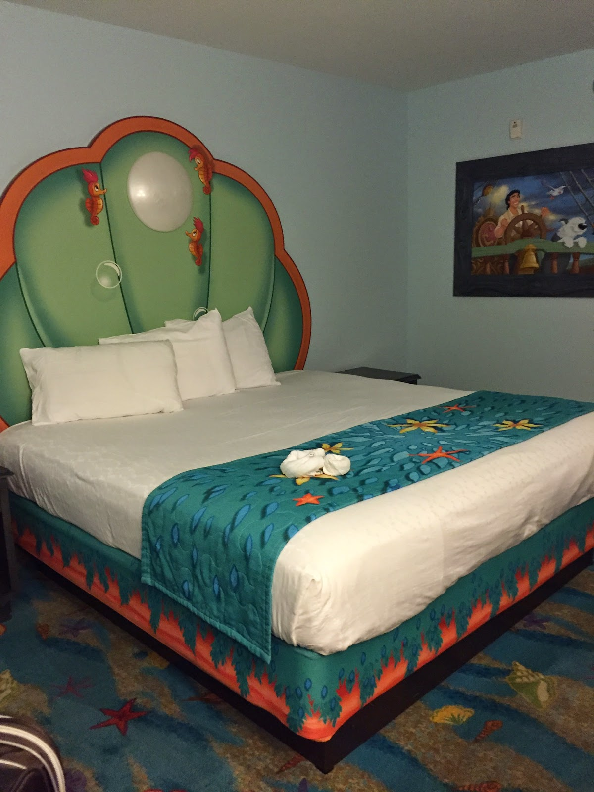 Art Of Animation Little Mermaid Standard Room Review