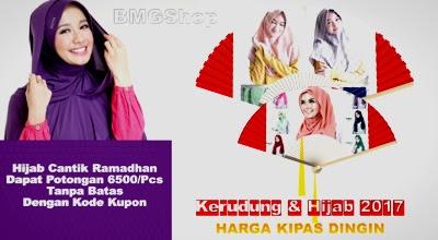 Promo Grosir Kerudung jilbab BMGShop