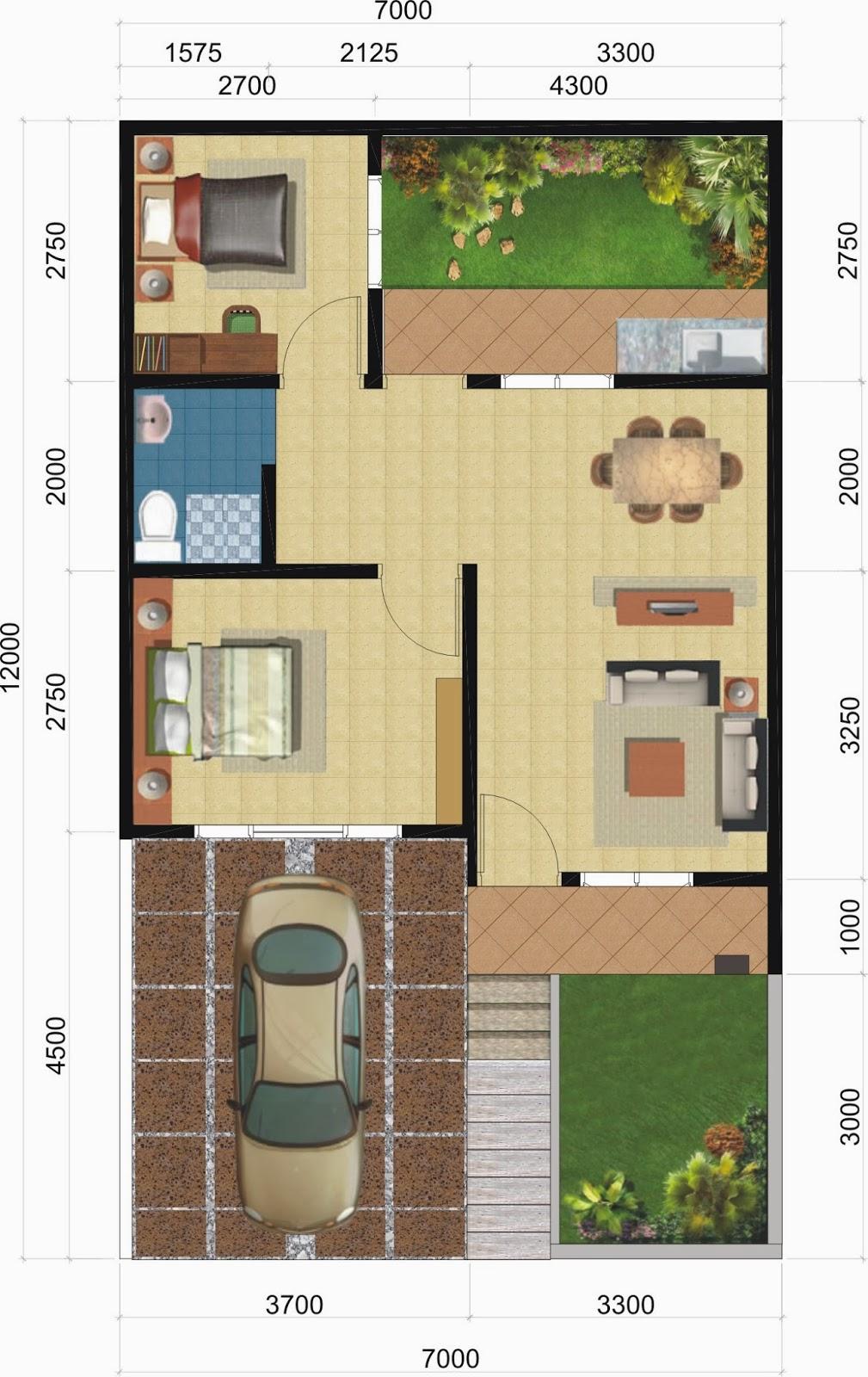 Model Rumah 2 Lantai Ukuran 5x8 Denah Rumah Ukuran 6 9 Desain