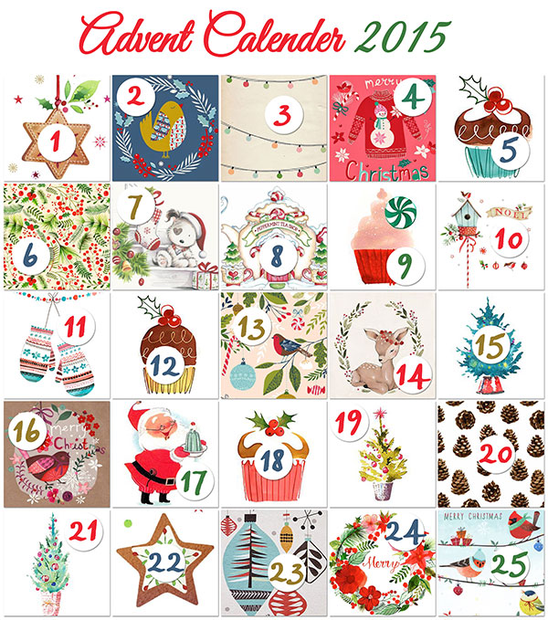 Scrapbook Advent calendar