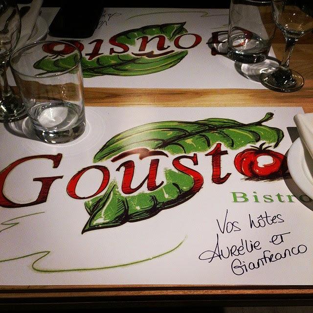 Gousto Bistro: un Bistro pour toute la famille