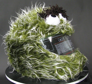 Oscar the Grouch Motorcycle Helmet Cover