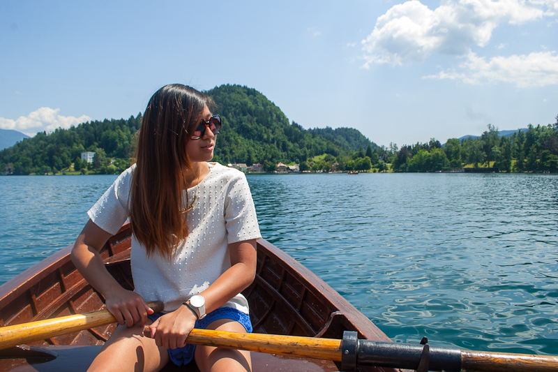 image of me rowing a boat and not quite getting it