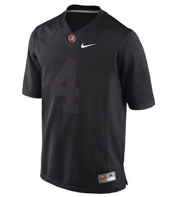 An Alabama blackout game scheduled for 2013, complete with black jerseys?