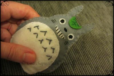 Totoro de fieltro