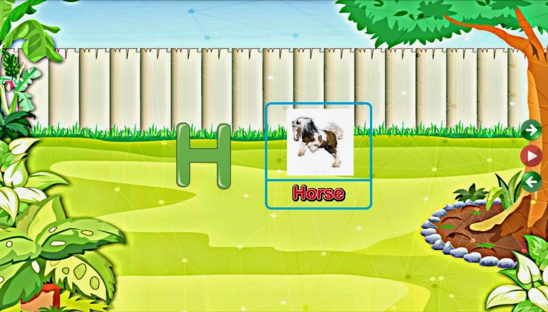 تطبيق الاندرويد الحروف والارقام الانجليزية للاطفال