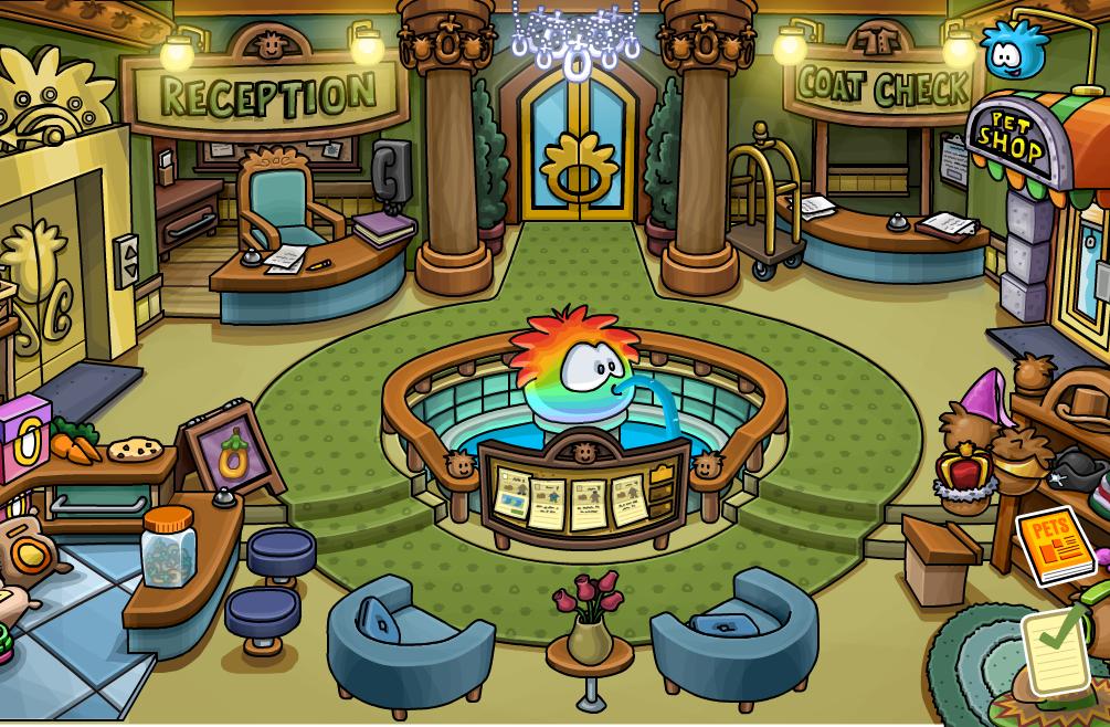 Club penguin manicitol super gu a tour por la fiesta de for Piso 9 del hotel madero