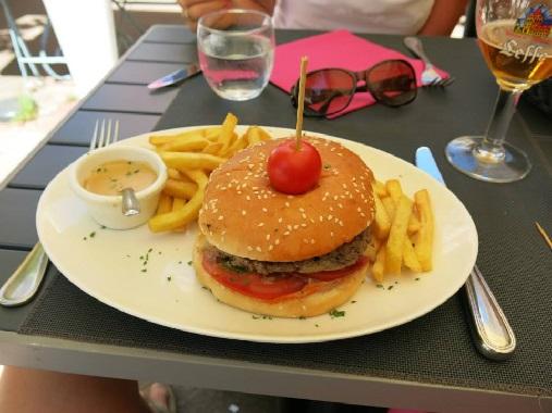 Grand Café Foie Gras Burger