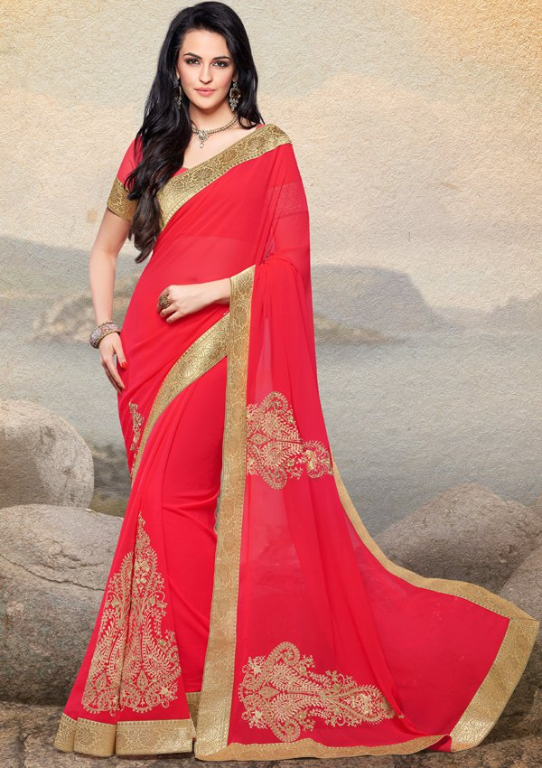 Latest Deepavali  Saree Designs Stills