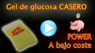 gel glucosa casero