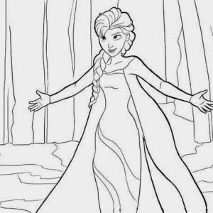 100 ideas Queen Elsa Printable Coloring Pages on wwwcleanrrcom