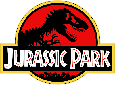 jurassic park logo no background