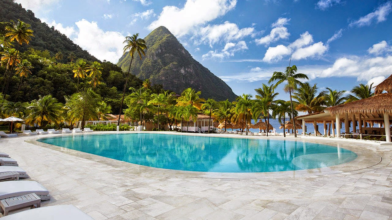 how to get to st lucia caribbean
