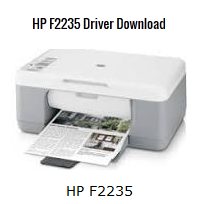 HP DeskJet F2235 Latest Driver Download
