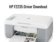 HP DeskJet F2235 Driver Free Download