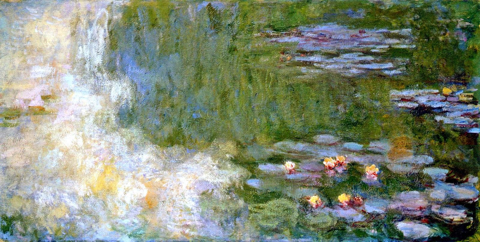 ART & ARTISTS: Claude Monet - part 24 1897 - 1922 Water Lilies
