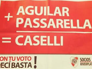 Aguilar, Passarella, Caselli, River Plate, River, Campaña 2013,