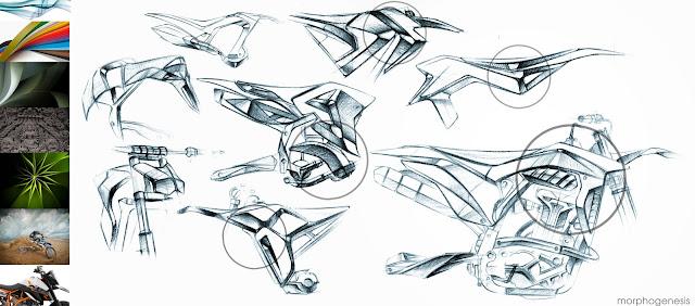 KTM Lightweight Xtremecross Concept Rendering By adityaraj dev