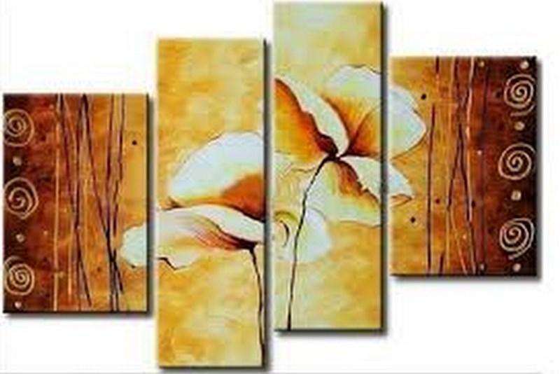 Cuadros modernos pinturas y dibujos flores pinturas al - Cuadros de cocina modernos ...