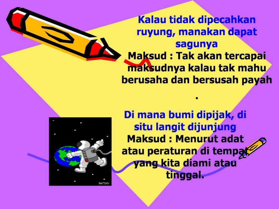Memahami Makna Peribahasa