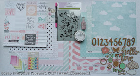 Scrap EveryDEE - februari 2017