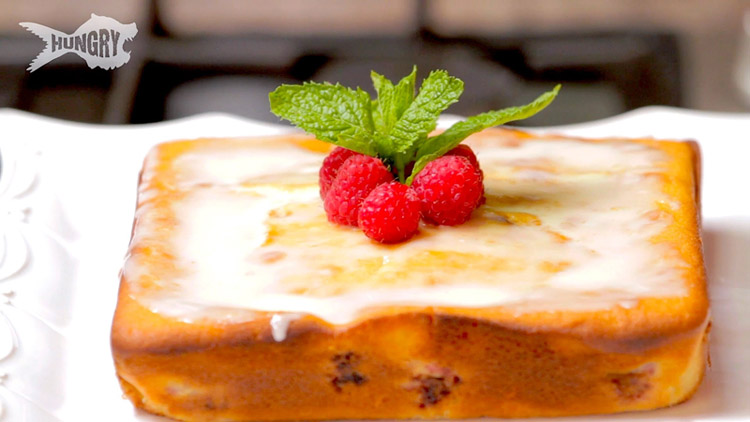 Orange Raspberry Coffee Cake Recipe -> http://goo.gl/Y6Ry7H #Dessert