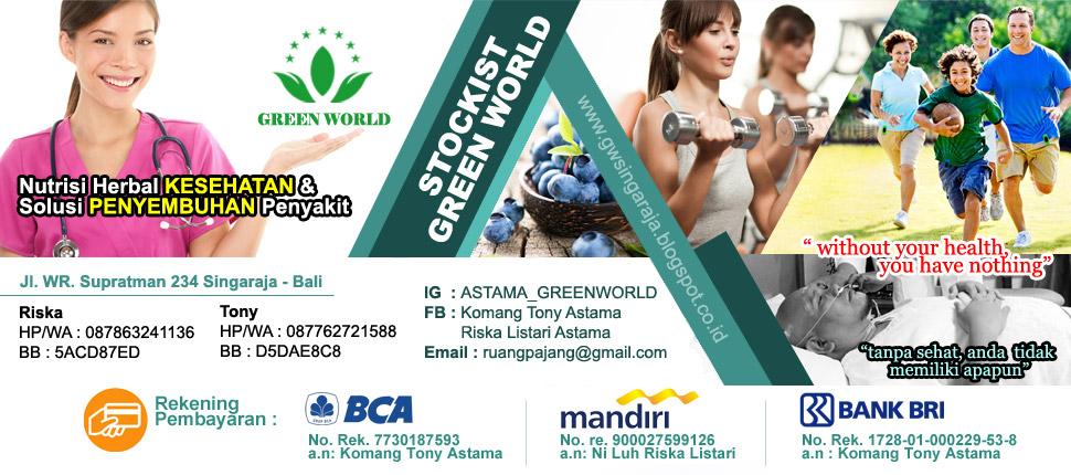 Green World - Nutrisi Herbal Kesehatan & Penyembuhan Penyakit