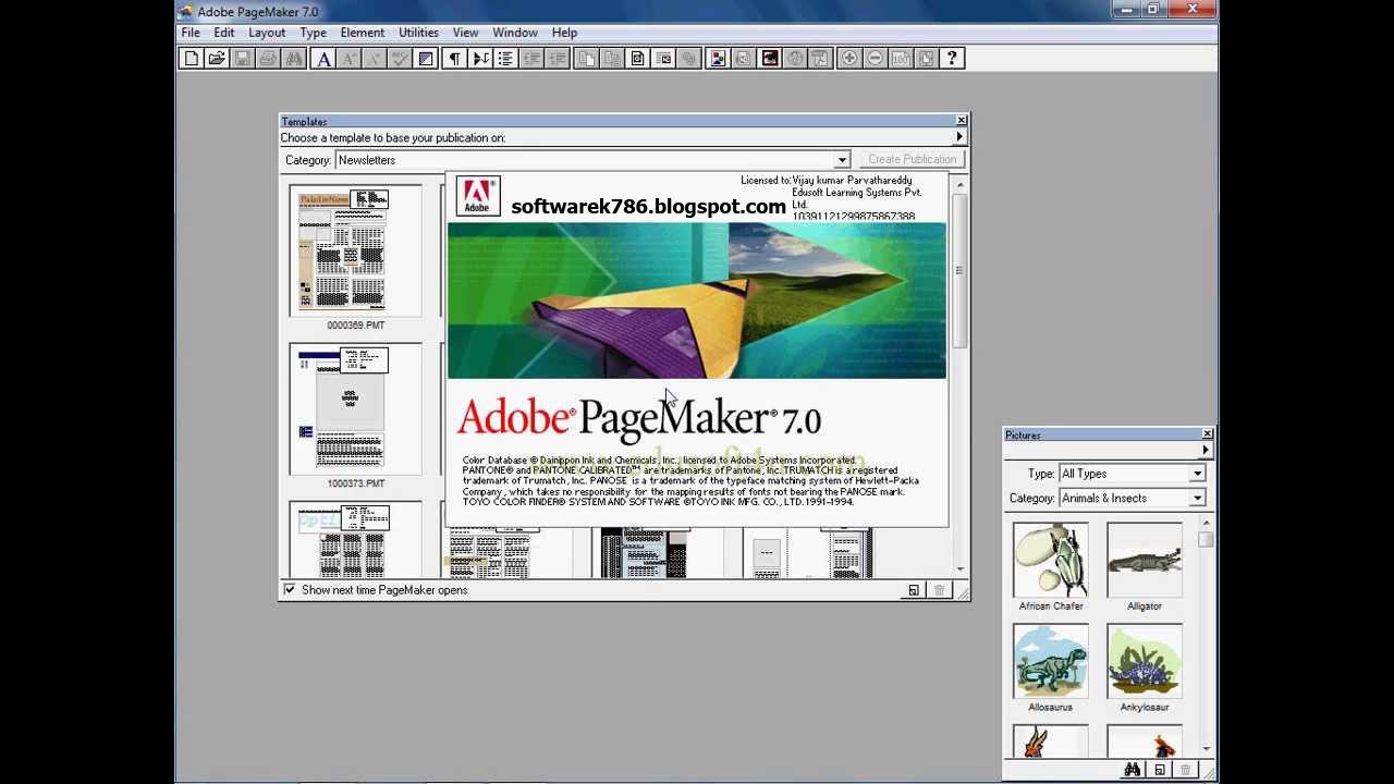 adobe pagemaker 7 0 full version free download