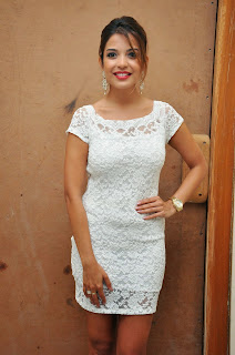 Actress Adonica New Pictures in Short Dress at Romeo Movie Audio Launch  20.JPG
