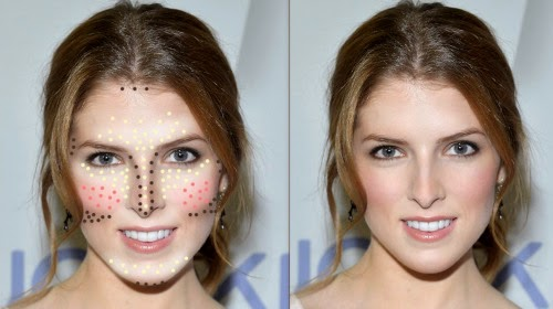 Bí quyết trang điểm theo hình dáng từng khuôn mặt