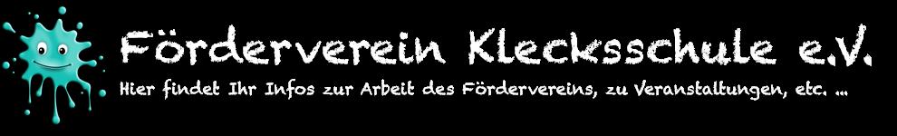Förderverein Klecksschule e.V.