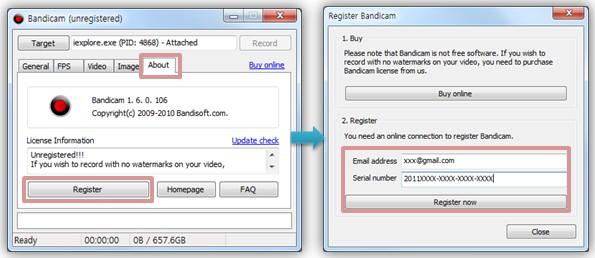 bandicam free keymaker