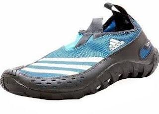 Adidas Men s Jawpaw II Outdoor Plein Air Blue Black Water Shoes, 8